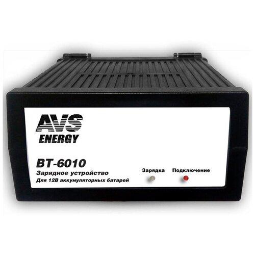 Зарядное устройство для автомобильного аккумулятора (зарядка для АКБ) AVS BT-6010 (7A) 12V A07076S