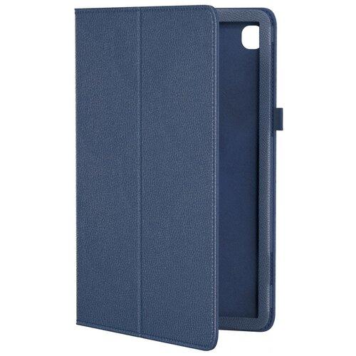 Кожаный чехол подставка для Samsung Galaxy Tab S6 Lite 10.4 SM-P610 GSMIN Series CL (Темно-синий)