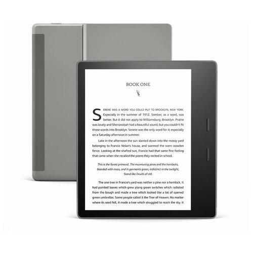 Электронная книга Amazon Kindle Oasis 2019 8 Gb graphite Ad-Supported