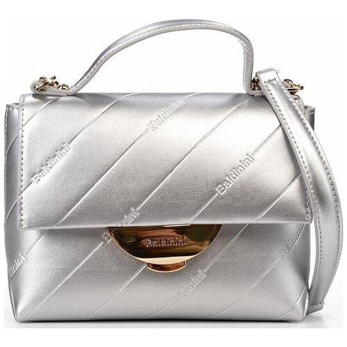 Сумка-клатч женская Baldinini G1APWG2H0012101 silver Miriam 001 недорого