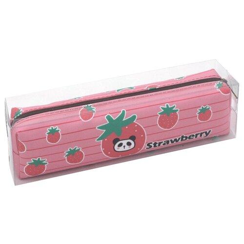 ArtSpace Пенал мягкий Panda Berry, розовый недорого