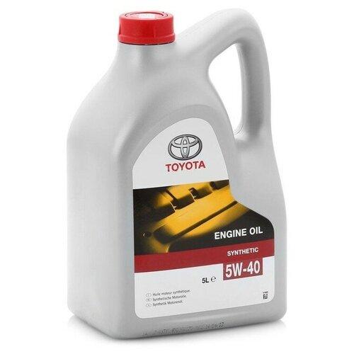Синтетическое моторное масло TOYOTA SAE 5W-40, 5 л по цене 2 820