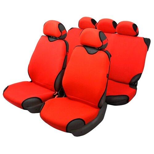 Чехлы-майки для автомобильных сидений AceStyle (красный)