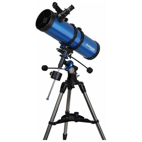 Фото - Телескоп Meade Polaris 130mm синий телескоп meade lx90 12 f 10 acf с профессиональной оптической схемой