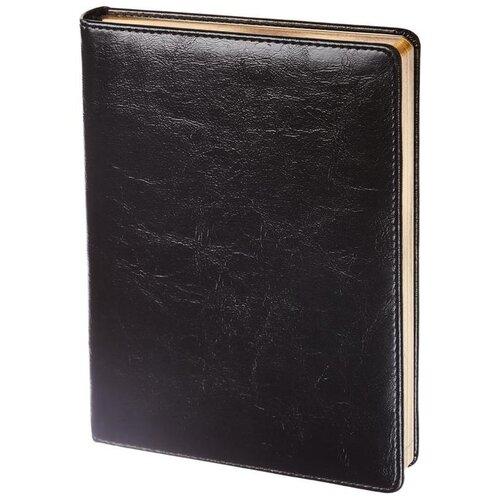 Ежедневник InFolio Challenge недатированный, искусственная кожа, А5, 160 листов, черный, Ежедневники  - купить со скидкой