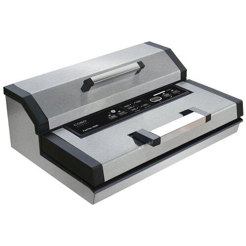 Фото - Вакуумный упаковщик Caso FastVAC 4000 серебристый/черный вакуумный упаковщик caso fastvac 4008