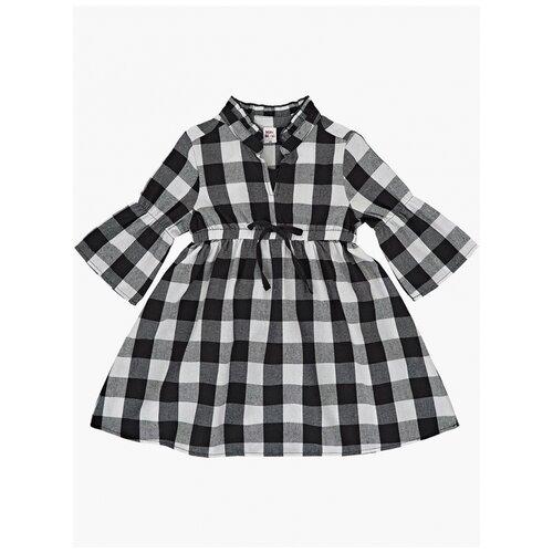Купить Платье Mini Maxi, 7464, цвет белый/черный, размер 110, Платья и сарафаны