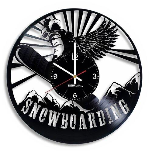 Часы из виниловой пластинки (c) VinylLab Сноубординг