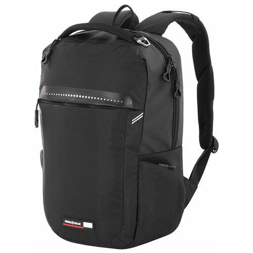 Фото - Рюкзак Swissgear 14'', черный, полиэстер 600D, 30 x 14,5 x 43 см, 19 л 3628202406 рюкзак swissgear 32x15x46 см 22 л черный