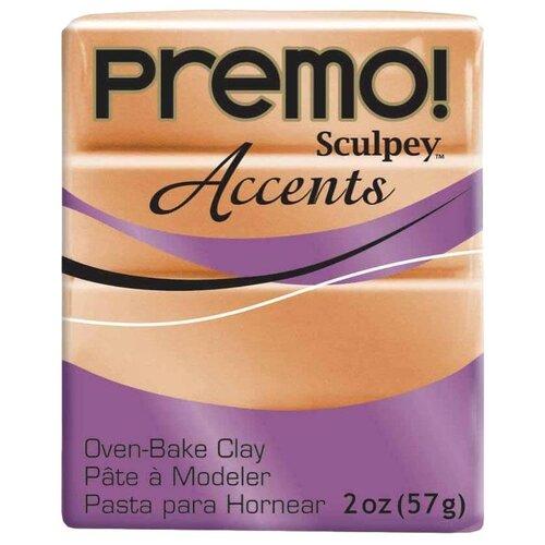 Купить Полимерная глина Sculpey Premo, цвет - 5067 под медь, 57 г, Глина