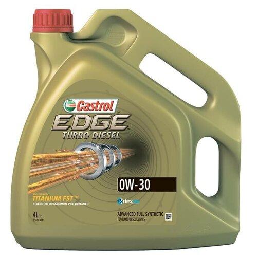 Синтетическое моторное масло Castrol Edge Turbo Diesel 0W-30, 4 л по цене 3 862