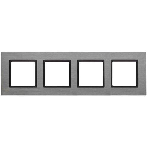 Рамка 4-постовая ЭРА Elegance 14-5204-42 Б0034564