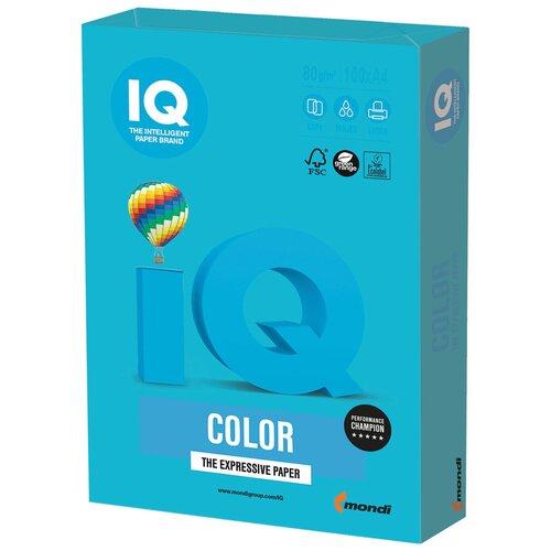 Фото - Бумага IQ Color A4 80 г/м² 100 лист., светло-синий AB48 лист для фольгирования caftsblu1 синий