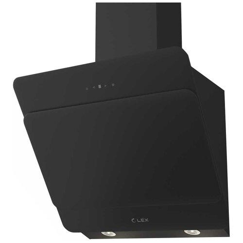 Каминная вытяжка LEX Glass 600 Black недорого