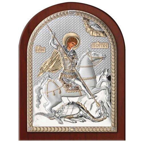 Икона Георгий Победоносец 84200, 12х16 см икона valenti георгий победоносец 84260 8х11 см
