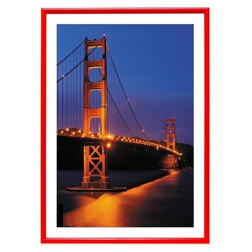 фотоальбомы и рамки veld co фоторамка poster 13х18 см Фоторамка Veld Co PR 15798/15795/15797/15796/15802, 21х29.7 см красный
