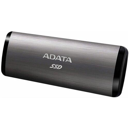 Фото - Внешний SSD ADATA SE760 512 GB, титановый серый внешний ssd adata se800 512 gb синий