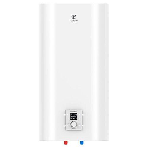 Фото - Накопительный электрический водонагреватель Royal Clima RWH-SI50-FS Supremo, белый электрический накопительный водонагреватель royal clima rwh bi30 fs