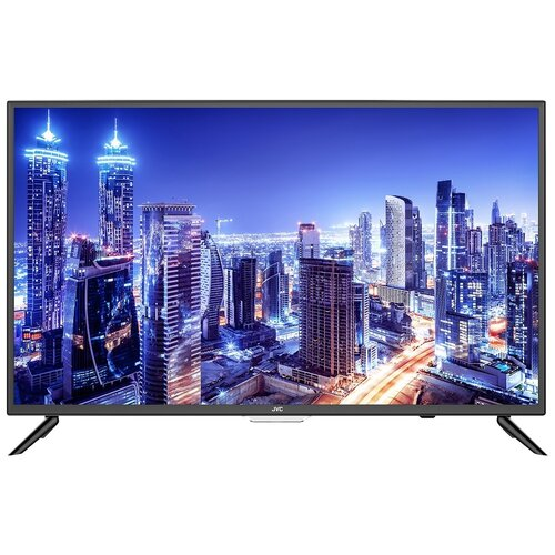 Фото - Телевизор JVC LT-32M595 32, черный телевизор 24 jvc lt 24m485 черный 1366x768 60 гц usb