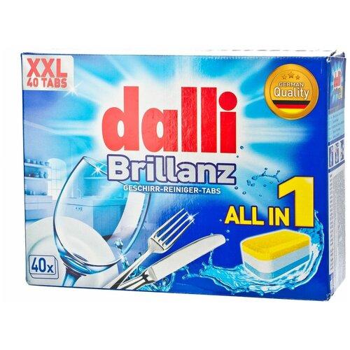 Фото - Dalli All in 1 таблетки для посудомоечной машины, 40 шт. aquarius all in 1 таблетки для посудомоечной машины 150 шт