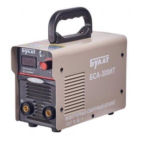 Сварочный аппарат инверторного типа Булат БСА-300ИТ MMA