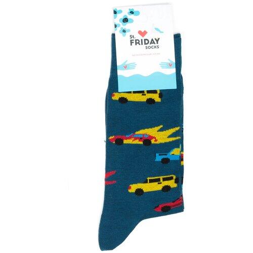 Носки с машинками St.Friday Socks 34-37