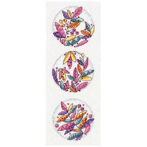 Купить Набор для вышивания PANNA Осеннее настроение 10.5x27.5 см, Наборы для вышивания