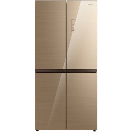 Холодильник WILLMARK MDC-617NFBG (456л Side-By-Side Total NoFrost A+ стекл. панели бежевый)