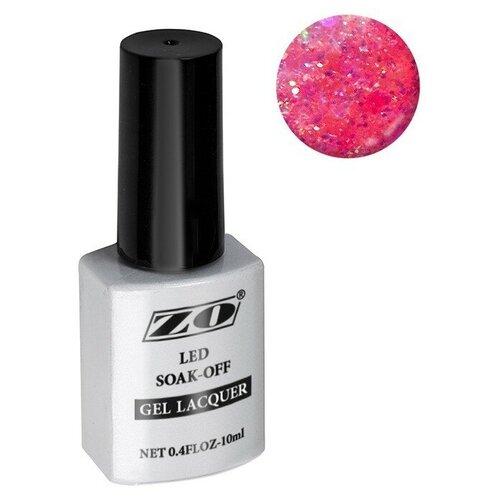 Купить Гель-лак для ногтей ZO mGL, 10 мл, 207 малиновый с добавками