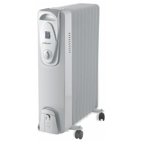 Масляный радиатор Maestro MR-951-9 белый