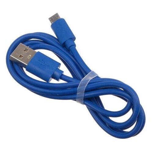 Кабель Red Line Micro USB - USB 1 А 1 м синий 5926171