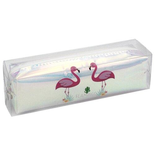 ArtSpace Пенал Flamingos (Tn_19879), розовый недорого