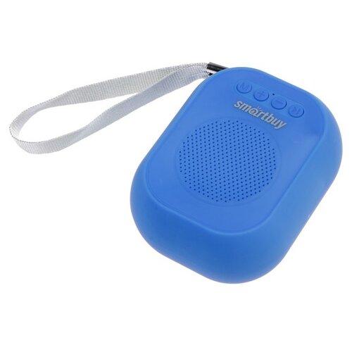 Портативная колонка SmartBuy BLOOM 3 Вт Bluetooth MP3 FM-радио синяя 4971323