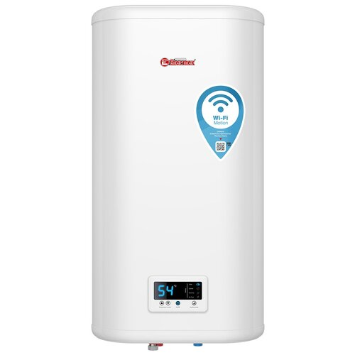Накопительный электрический водонагреватель Thermex IF 50 V (pro) Wi-Fi, белый водонагреватель накопительный thermex if 50 v pro 2000 вт 50 л
