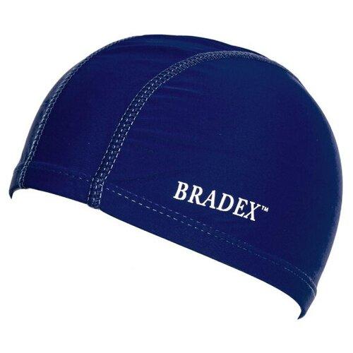 Шапочка для плавания BRADEX SF 0323, темно-синий