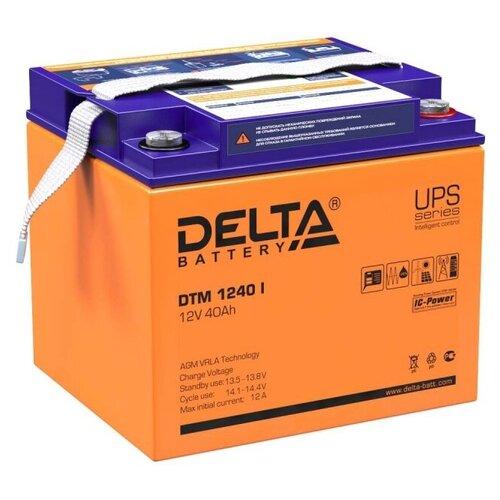 Аккумуляторная батарея DELTA Battery DTM 1240 I 40 А·ч аккумуляторная батарея delta battery dtm 12250 i 250 а·ч