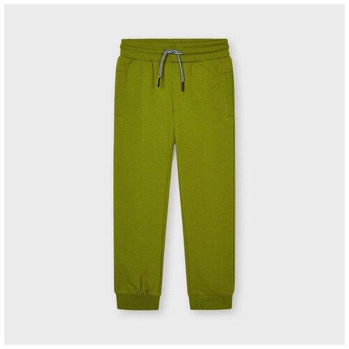 Спортивные брюки Mayoral оливковые 7 л.
