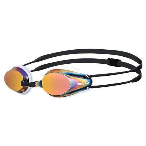 Фото - Очки для плавания arena Tracks Mirror 92370, white/redrevo/black очки для плавания arena zoom neoprene 92279 black clear black