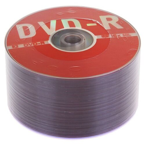 Диск DVD-R Data Standard 16x 4.7 Гб спайка 50 шт 1198404