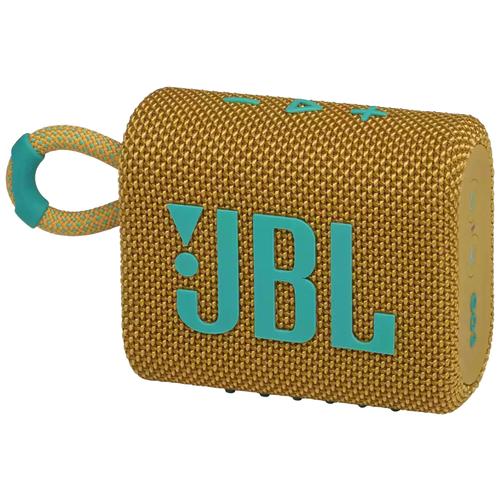 Портативная акустика JBL GO 3, yellow