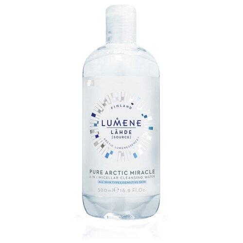 Купить Lumene мицеллярная вода 3 в 1 Nordic Hydra Lähde, 500 мл