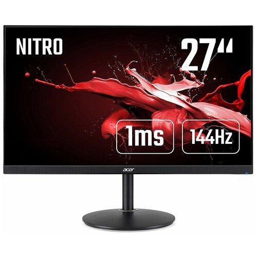 Монитор Acer Nitro XF272UPbmiiprzx 27, черный монитор acer nitro vg272xbmiipx 27 черный красный