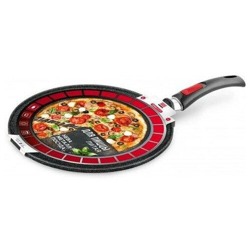 Сковорода для пиццы НЕВА МЕТАЛЛ ПОСУДА Granite 6432 32 см