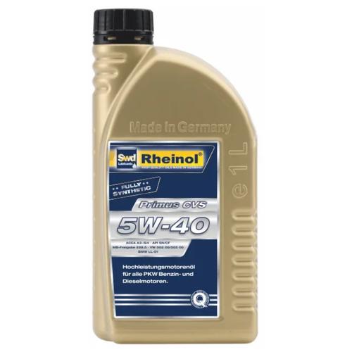 Синтетическое моторное масло Rheinol Primus CVS 5W-40 1 л