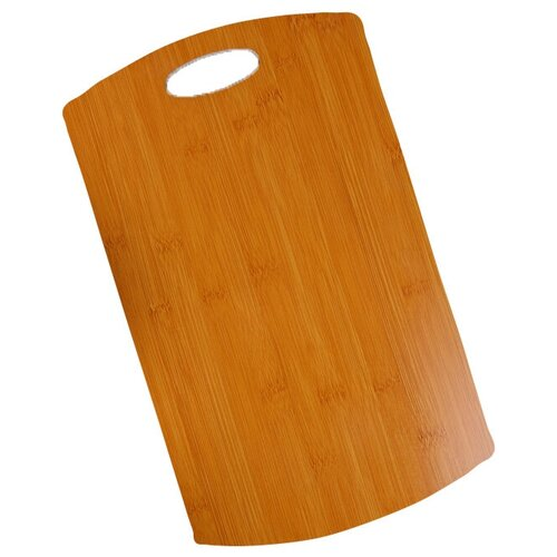 Фото - Разделочная доска Доляна 4145036, 39.5х24 см, коричневый разделочная доска paderno 42538 53х32 5 см коричневый