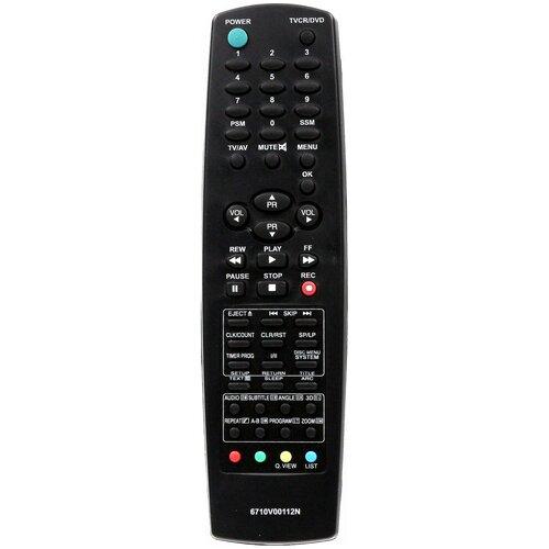 Фото - Пульт Huayu 6710V00112N TV+DVD+VCR для телевизора LG пульт huayu zd3279 14ctn50bg для tv dvd akai