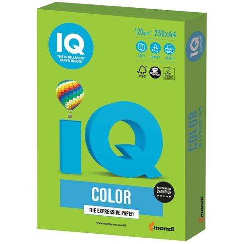 Фото - Бумага IQ Color А4 120 г/м² 250 лист., ярко-зеленый MA42 бумага brauberg а4 122623 115 г м2 25 лист