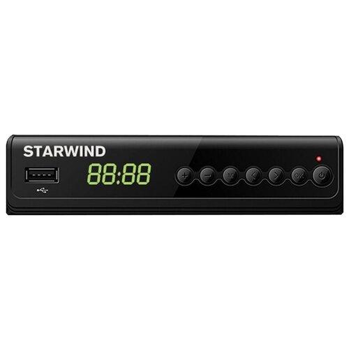 TV-тюнер STARWIND CT-280 черный tv тюнер starwind ct 200 черный