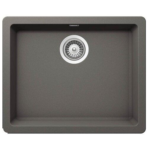 Фото - Врезная кухонная мойка 55 см Schock Soho N-100 серебристый камень врезная кухонная мойка 45 см schock soho n 100s серебристый камень