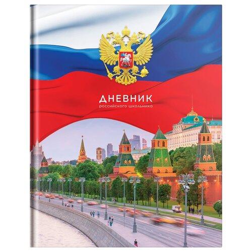 Купить ArtSpace Дневник Российского школьника (Дц40т_36298) разноцветный, Дневники